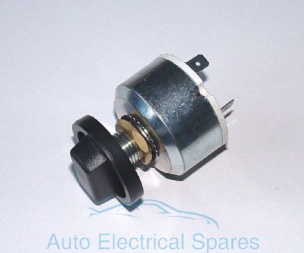CLASSIC / KIT CAR rotary fan / blower / light switch 3 position Off-On-On